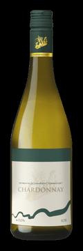 Láhev bílého vína Chardonnay 2016 Vinařství Tomanovský