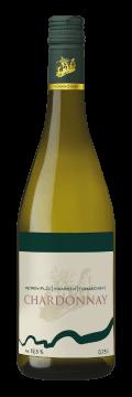 Láhev bílého vína Chardonay 2018 Vinařství Tomanovský