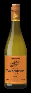 Láhev bílého vína Eno Cuvée 2020 Vinařství Tomanovský