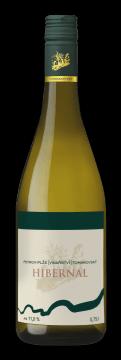 Láhev bílého vína Hibernal 2018 Vinařství Tomanovský