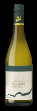 Láhev bílého vína Müller Thurgau 2017 Vinařství Tomanovský