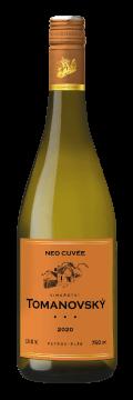 Láhev bílého vína Neo Cuvée 2020 Vinařství Tomanovský