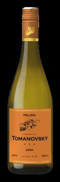 Láhev bílého vína Pálava 2020 Vinařství Tomanovský