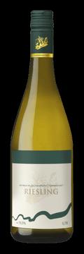 Láhev bílého vína Riesling 2016 Vinařství Tomanovský