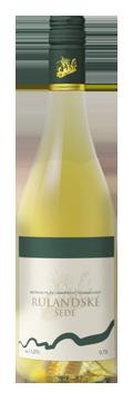 Láhev bílého vína Rulandské šedé 2016 Vinařství Tomanovský