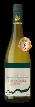 Láhev bílého vína Rulandské šedé 2018 Vinařství Tomanovský