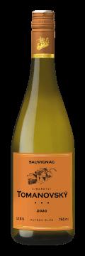 Láhev bílého vína Sauvignac 2020 Vinařství Tomanovský