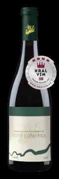 Láhev červeného vína Cuvée Zw / Fra 2015 Vinařství Tomanovský