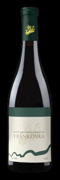 Láhev červeného vína Frankovka 2016 Vinařství Tomanovský