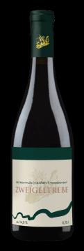 Láhev červeného vína Zweigeltrebe 2017 Vinařství Tomanovský