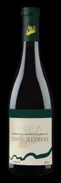 Láhev červeného vína Zweigeltrebe 2018 Vinařství Tomanovský